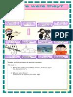 Describing Past Activities Flashcards Fun Activities Games Grammar Drills Rea 12955