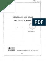 Informe & Mapa Quillota Portillo