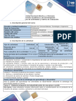 Guía de Actividades y Rúbrica de Evaluación - Tarea 4 - Elaborar Propuesta de Industrialización de Una Grasa o Aceite