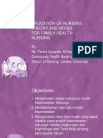 APLICATION OF NURSING THEORY AND MODEL  FOR FAMILY.pptx