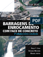 Livro Barragens de Enrocamento 2ed DEGustacao