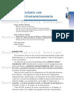 Hipertransaminemia Con Casos Clinicos