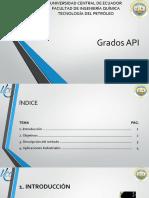 Grados API
