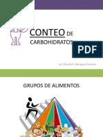 Taller de nutricion - CONTEO DE CARBOHIDRATOS.ppt