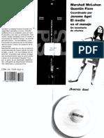 McLuhan, Marshall & Fiore, Quentin - El medio es el masaje un inventario de efectos (1967).pdf
