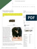 Forma de Los Contratos _ La Guía de Derecho