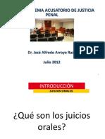 Ponencia Juicios Orales 6-07-12