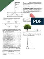 Evaluación Décimo Math 1p
