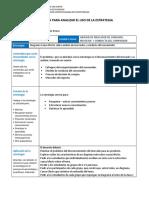 CLAUDIA NEGRON PONCE_Plantilla Para Analizar El Uso de La Estrategia