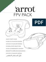 Bebop 2 Fpv Quick Start Guide UK FR SP de IT NL PT AR