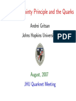 Talk Jhu Aug2007