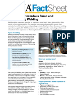 Welding Fume Fact Sheet