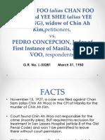 Chin Ah Foo v. Concepcion