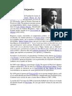 Biografía de Alejandro Romualdo