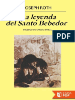 La Leyenda Del Santo Bebedor - Joseph Roth