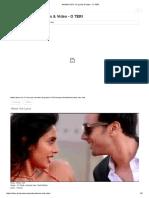 Akhan Vich Tu Lyrics & Video - o Teri