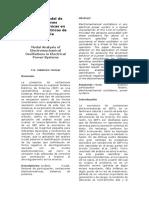 Análisis Modal de Oscilaciones Electromecánicas en Sistemas Eléctricos de Potencia