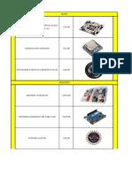 Catalogo Arduino Septiembre Ml