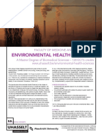 Environmental Health Sciences