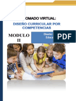 Diseño Curricular en Educacion Inicial