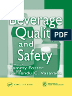 Tammy Foster, Purnendu C. Vasavada-Beverage Quality and Safety -CRC Press (2003)