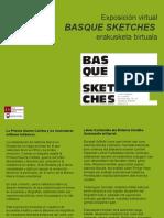 """""""Basque Sketches"""" Erakusketa Online Exposición"""