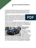 Antecedentes de Motor de Hidrógeno en Empresas Automovilisticas (1)