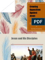 Growing Opposition Against Jesus