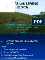 Kuliah ke_5B-Metode Analisa Kemantapan Lereng -2.ppt