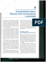 Introduccion Al Pensamiento Clinico Relacion Entre Neuroanatomia y Neurologia