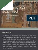 Ritos, Tradições e Doutrinas - Dr. André Muceniecks