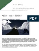 Azazel – Anjo Ou Demônio_ _ the Binding of Isaac (Brasil)