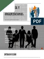 Psicología y Cultura organizacional - Presentación