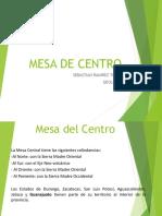Mesa de Centro Región Fisiografica de México