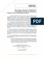 Metodologia Analisis de Riesgo en Tuneles