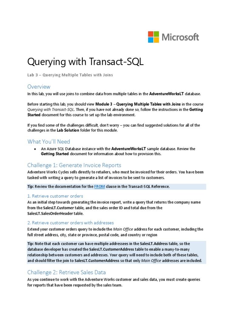 Lab03 Information Retrieval Databases