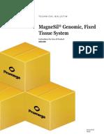 Magnesil Genomic Fixed Tissue System Protocol