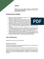 Reforma de Salud en Mexico