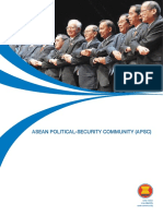 8. Fact Sheet on ASEAN Political Security Community APSC