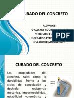 Curado Del Concreto Diapositivas