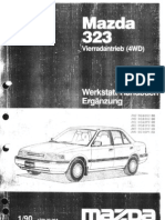 Mazda 323 BG8 - Mechanik