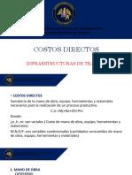 Diapositivas Clase 1 - Infraestructura de transportes II