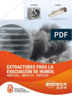 Catalogo Extractores Evacuación Humos 2010
