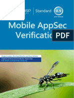 OWASP Mobile AppSec Verification Standard v0.9.3