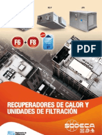 Catálogo Recuperadores y Unidades Filtración 2010