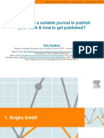 1 How to Find a Suitable Journal to Publish Your Work