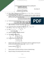 9D12103 Numerical Methods