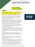 (Análisis) Un Pacto Nuclear Con Irán, Primer Paso Hacia Un Cambio Geopolítico Regional. Noticias de Agencia, Eldia