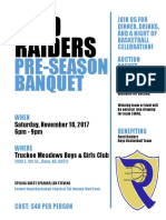 raiders pre-season banquet flyer- draft