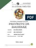 Proyecto Maderas 2017